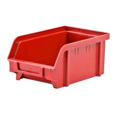 DEMA Plastový zásobník 103x166x73 mm, červený