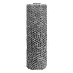 Pletivo 13 mm , 0,5 x 25 m, pozinkované, 6-hranné
