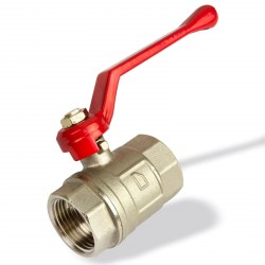 "Mosadzný guľový ventil 1/2"" IG DN15"