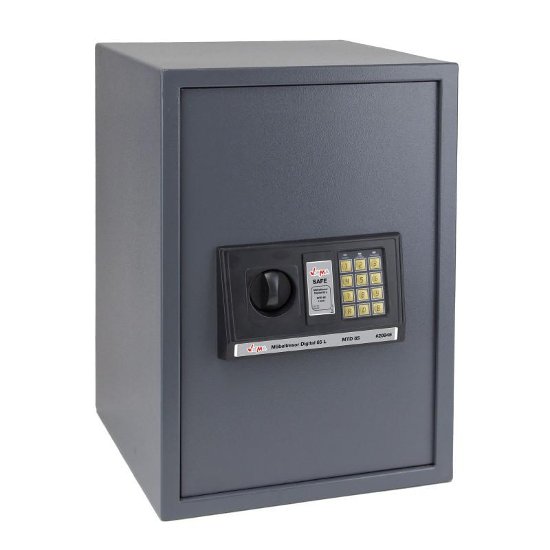 DEMA Nábytkový digitálny trezor 65 L 35x36x52 cm