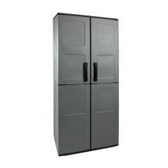 DEMA Plastová skriňa 68x37x163 cm, 3 police