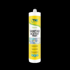 Silikónový tmel sanitárny biely 300 ml