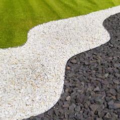 DEMA Kovový obrubník na trávnik do záhrady 118x20 cm