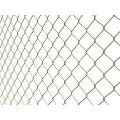 Štvorhranné pletivo BND ZN+PVC 50/2,50-1,65/180/15m, zelené