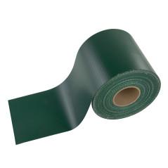 DEMA Krycia páska na plotový panel PVC 35x0,19 m, zelená