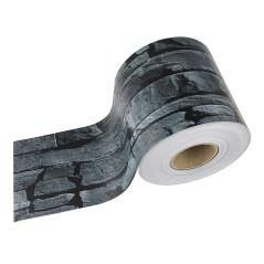 DEMA Krycia páska na plotový panel PVC 35x0,19 m, bridlica