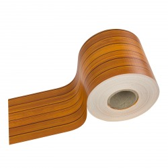 DEMA Krycia páska na plotový panel PVC 35x0,19 m, drevo