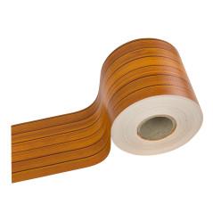 DEMA Krycia páska na plotový panel PVC 70x0,19 m, drevo