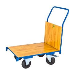 Prepravný vozík 74x50 cm s čelnou stenou