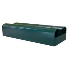 Držiak podhrabovej dosky okrúhly ZN+PVC U/200/40, zelený