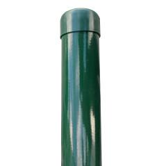 Stĺpik poplastovaný (BPL) ZN+PVC 48x1,5x2000, zelený