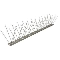 Nerezová zábrana proti vtákom Pecon SPIKE-55-0, 48 hrotov, 50 cm