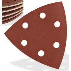 DEMA Brúsny papier pre delta brúsku 93x93x93 mm P240, 50 ks