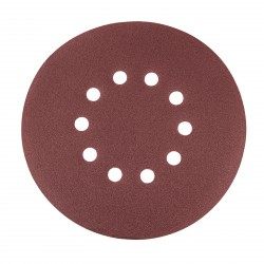 DEMA Brúsny papier pre excentrickú brúsku 225 mm P120, 25 ks