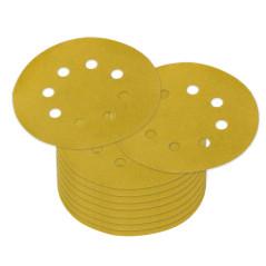 DEMA Brúsny papier pre excentrickú brúsku 125 mm P280, 10 ks