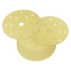 Brúsny papier pre excentrickú brúsku 150 mm P100, 10 ks
