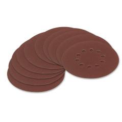 DEMA Brúsny papier pre excentrickú brúsku 225 mm P100, 10 ks