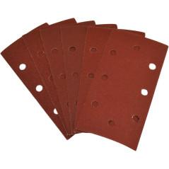 Güde Brúsny papier pre vibračnú brúsku 93x187 mm, 2x K100, 2x K120, 2x K180