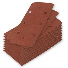 DEMA Brúsny papier pre vibračnú brúsku K120, 10 ks