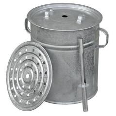 Hrniec zavárací REX s puzdrom na teplomer 15 litrov
