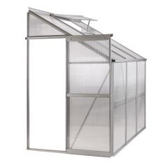 DEMA Hliníkový skleník 190x126x203 cm Antwerpen
