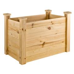 DEMA Vyvýšený záhon drevený 104x63x77 cm Cicero