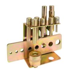 DEMA Lisovacie nástroje pre dielenský lis, 9-dielna sada