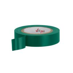 DEMA Elektrikárska izolačná páska 15 mm / 10 m, zelená
