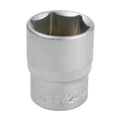 """DEMA Nástrčkový kľúč / orech krátky 24 mm 1/2"""""""
