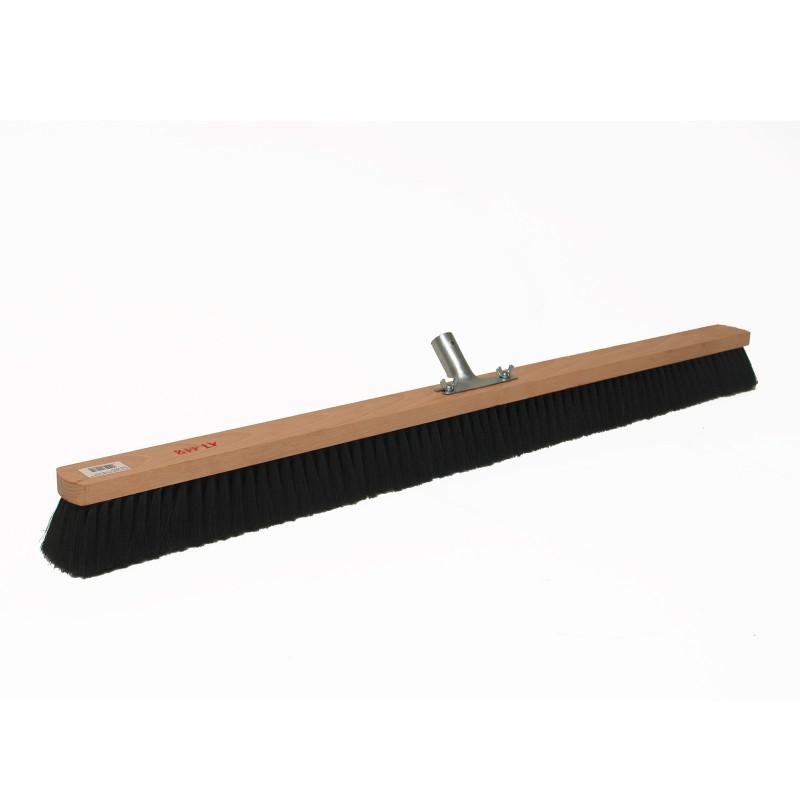 DEMA Metla s kovovým držiakom násady 100 cm zmes srsti
