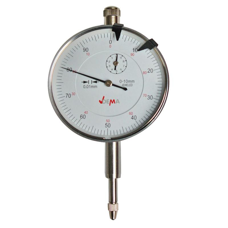 DEMA Analógový odchýlkomer 0-10 mm / 0,01 mm 20720