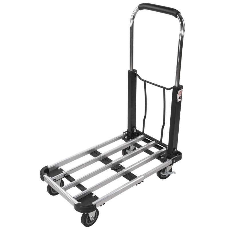 DEMA Skladací hliníkový prepravný vozík do 150 kg