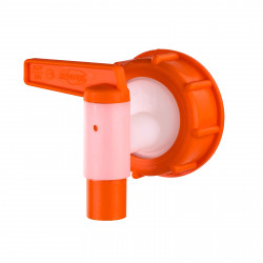 Plastový vypustný kohútik s prevlečnou maticou NW 15