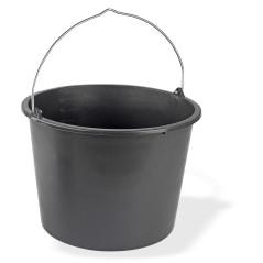 Stavebné vedro 20 litrov, čierne