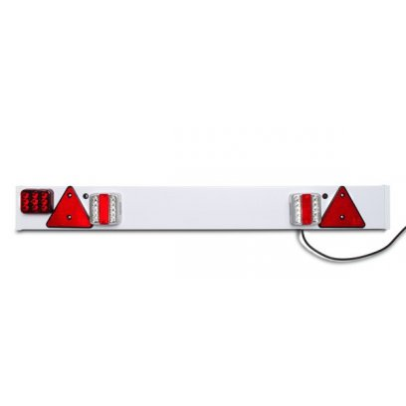 DEMA Lišta s LED svetlami a hmlovkou pre príves