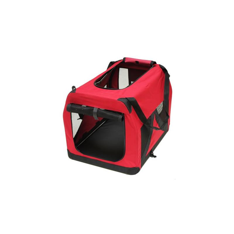 Box pre psa / mačku červený 70 x 52 x 52 cm