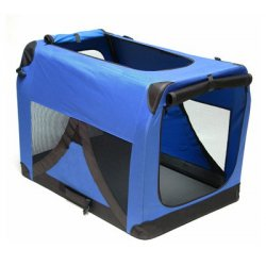 Box pre psa/mačku, XXL modrý 91,4 x 63,5 x 63,5 cm