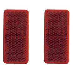 Odrazka 95 x 38 mm červená, samolepiaca, 2 ks