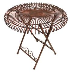DEMA Sklápateľný záhradný stôl Sun Antik