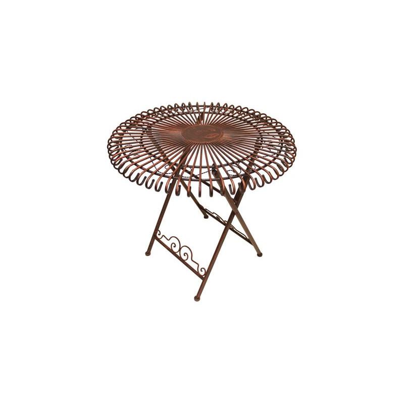 Stôl antický záhradný Sun
